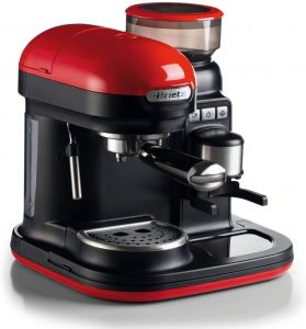 Cafetière Ariete Espresso avec broyeur