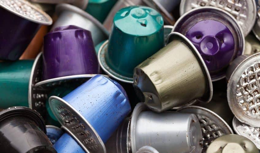Où jeter les capsules usagées de café?