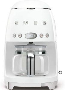 cafetière programmable DCF01WHEU de Smeg