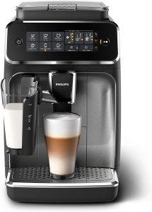Cafetière Philips LatteGo Façade Argent