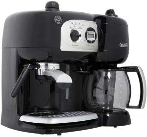 De'Longhi Machine à Café à Pompe et Cafetière Filtre
