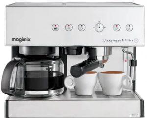 Magimix11423 Expresso et filtre automatique