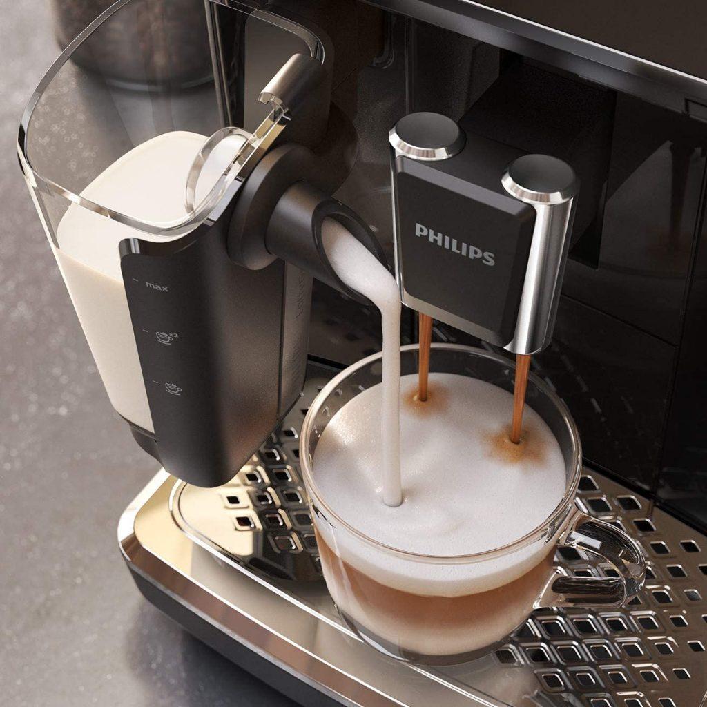 Philips LatteGo fonctionnement lait